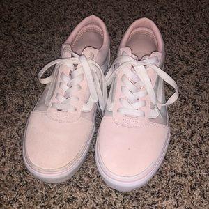 Baby pink vans